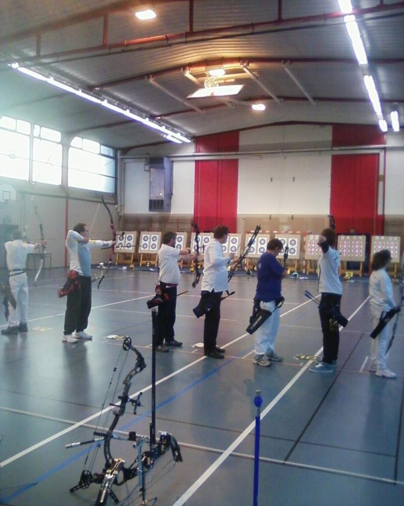 Concours en salle 2013, Saint-Etienne.