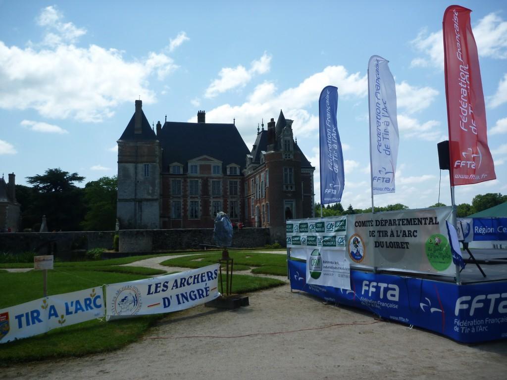 Championnat de France de Tir Nature 2014 à La Bussière (Loiret)